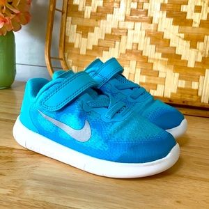 Nike Free Polarized Ice Sneakers, Size 8C